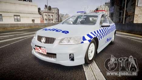 Holden Commodore Omega Victoria Police [ELS] pour GTA 4