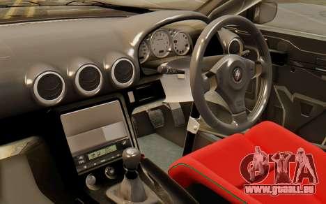 Nissan Silvia S15 Stance pour GTA San Andreas vue de droite