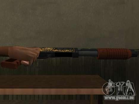 GTA 5 Sawed-Off Shotgun für GTA San Andreas zweiten Screenshot