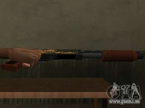 GTA 5 Sawed-Off Shotgun pour GTA San Andreas deuxième écran