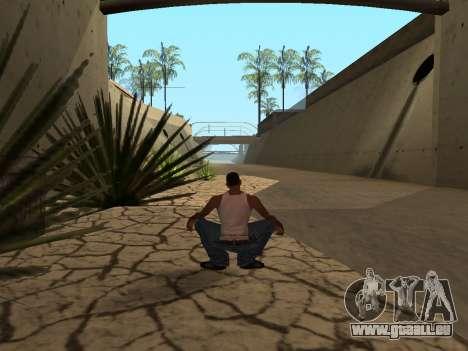 Ped.ifp-Animation Gopnik für GTA San Andreas fünften Screenshot