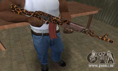 Leopard AK-47 pour GTA San Andreas