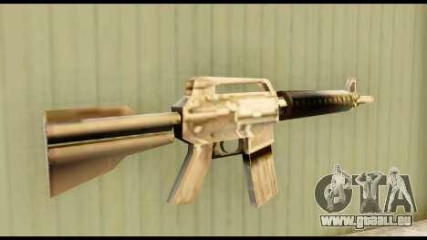 M4 Fixed pour GTA San Andreas deuxième écran