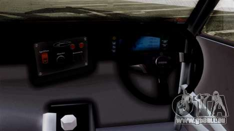 Toyota AE86C pour GTA San Andreas sur la vue arrière gauche