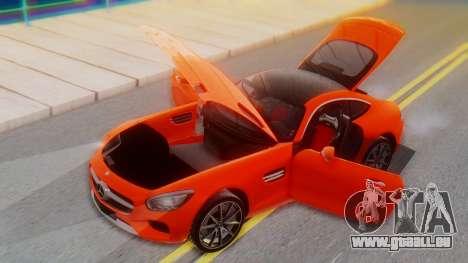 Mercedes-Benz SLS AMG GT pour GTA San Andreas vue de côté