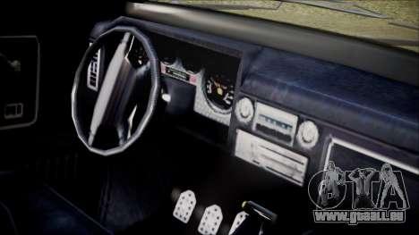 GTA 5 Vapid Slamvan IVF pour GTA San Andreas vue de droite
