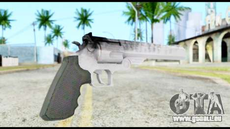 Desert Eagle from Resident Evil 6 für GTA San Andreas zweiten Screenshot