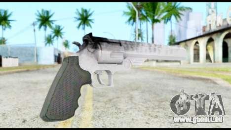 Desert Eagle from Resident Evil 6 pour GTA San Andreas deuxième écran