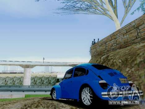 Volkswagen Beetle 1980 Stanced v1 pour GTA San Andreas moteur