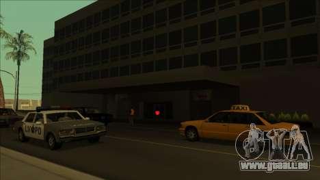 HP micros près des hôpitaux dans l'état pour GTA San Andreas sixième écran