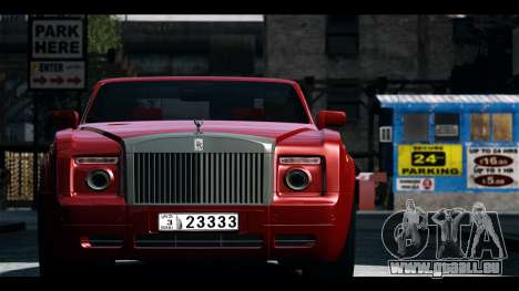 Rolls-Royce Phantom 2009 Coupe v1.0 für GTA 4