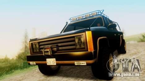 FBI Rancher Offroad pour GTA San Andreas