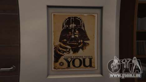 Star Wars Posters for Franklins House 0.5 pour GTA 5