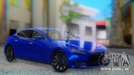 Tesla Model S pour GTA San Andreas