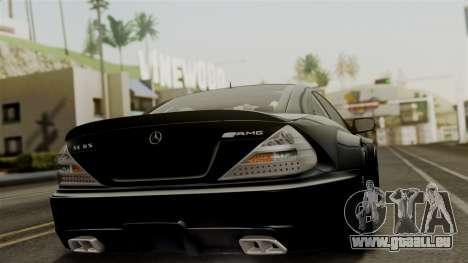 Mercedes-Benz SL65 E-Tuning pour GTA San Andreas laissé vue