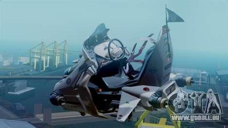 NRG Moto Jet Buzz Clean Model für GTA San Andreas linke Ansicht