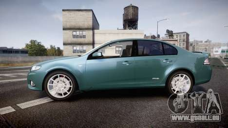 Ford Falcon FG XR6 Turbo für GTA 4 linke Ansicht