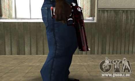 Redl Deagle pour GTA San Andreas deuxième écran