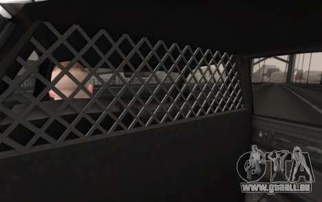 GTA 5 Stanier Police pour GTA San Andreas vue de droite