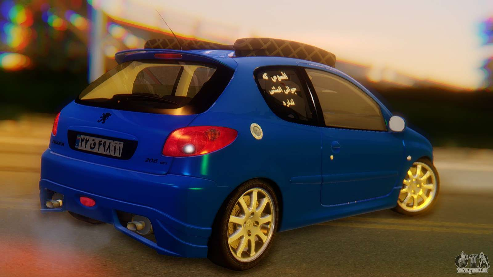 Peugeot 206 full tuning pour gta san andreas for Peugeot 206 tuning interieur