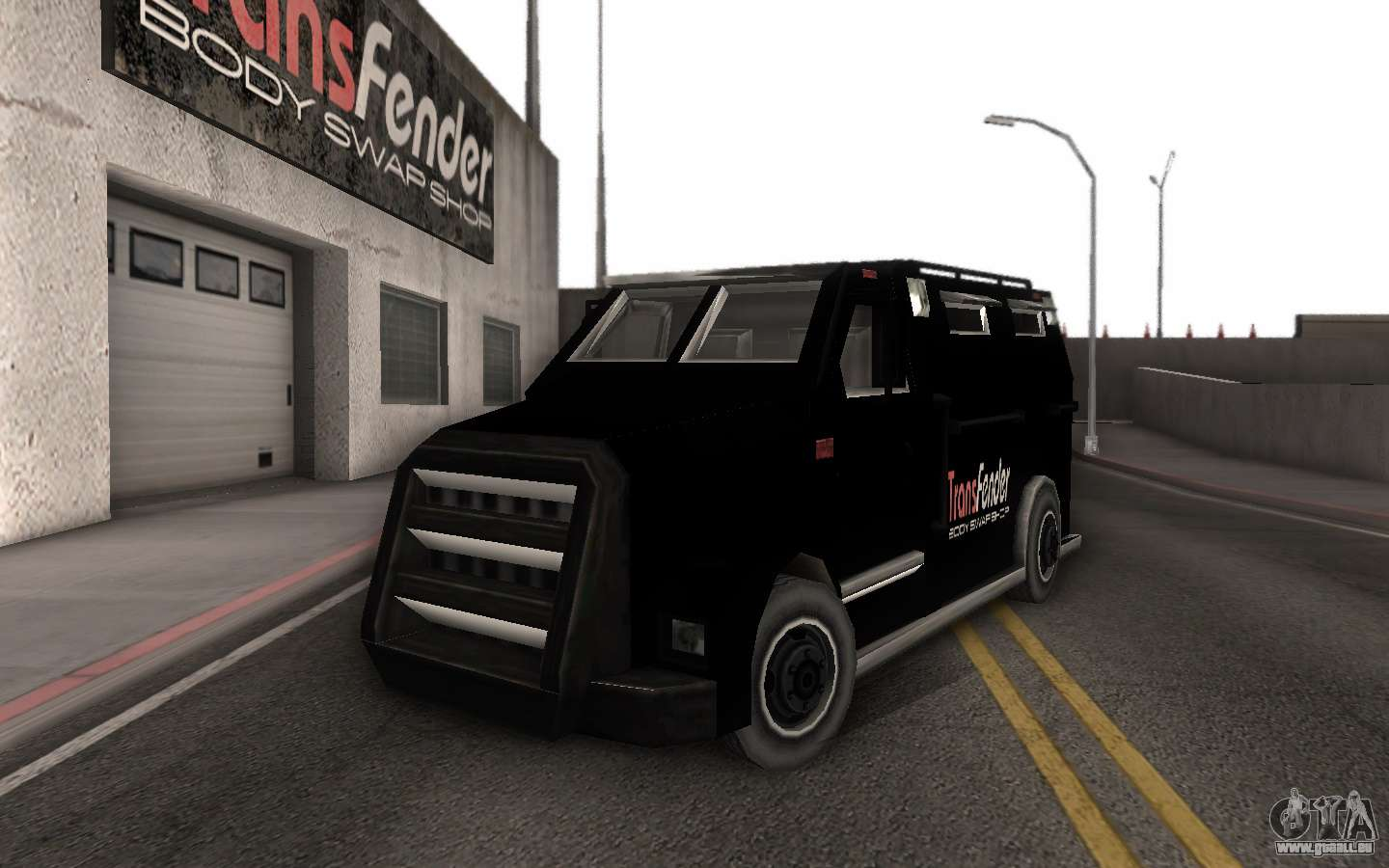 machine de livraison des pi ces tuning pour gta san andreas. Black Bedroom Furniture Sets. Home Design Ideas