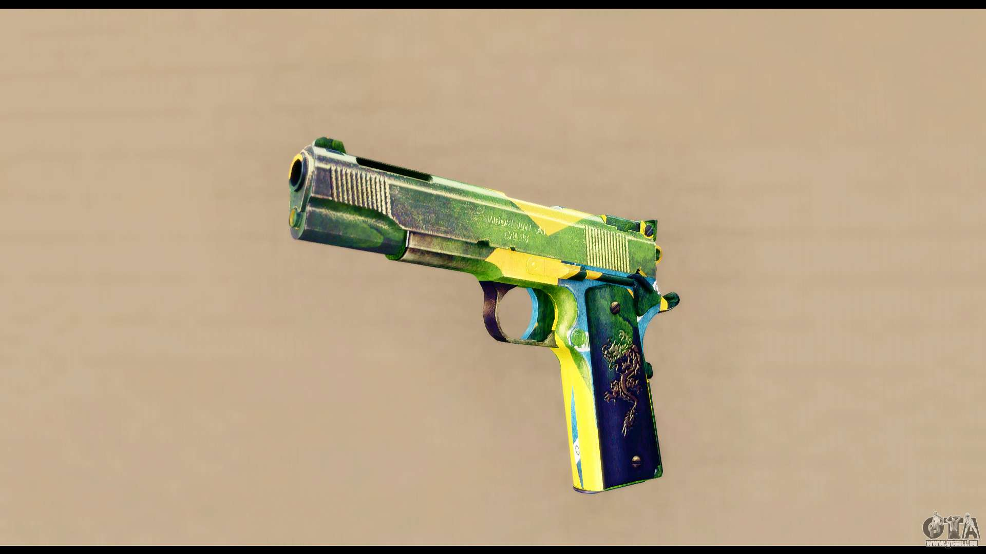 comment installer le mod du pistolet dubstep