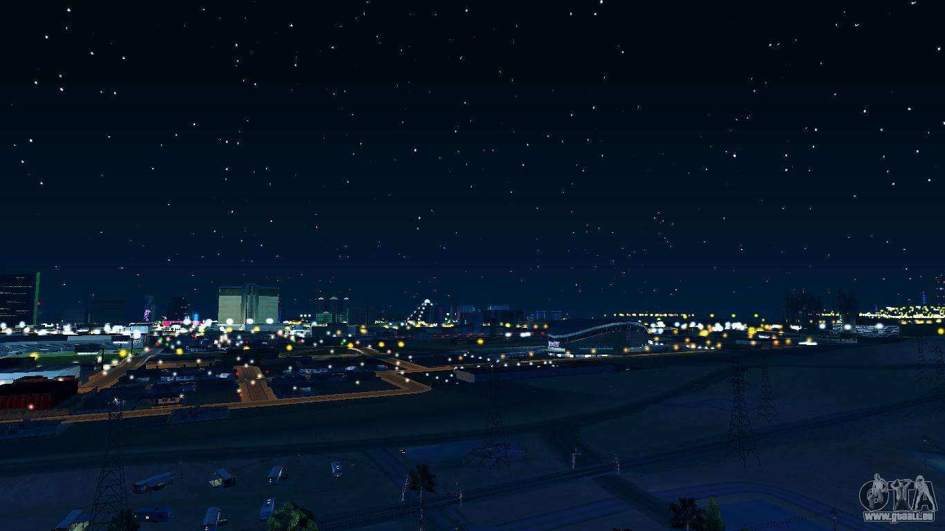 Skybox Real Stars And Clouds V2 Pour Gta San Andreas
