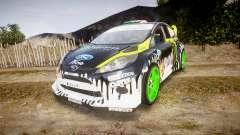 Ford Fiesta Gymkhana 3 Ken Block für GTA 4