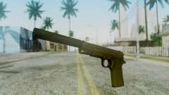 Silenced M1911 Pistol pour GTA San Andreas