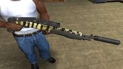 Gold Lines Combat Shotgun