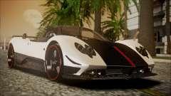 Pagani Zonda Cinque 2009 Autovista für GTA San Andreas