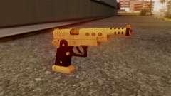 Chrome Hammer Pistol