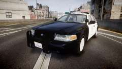 Ford Crown Victoria 2011 LAPD [ELS] rims1