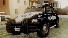 Volkswagen Beetle 1963 Policia Federal pour GTA San Andreas