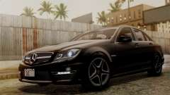 Mercedes-Benz C63 AMG 2015 Edition One pour GTA San Andreas