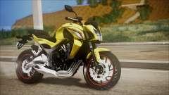 Honda CB650F Amarela