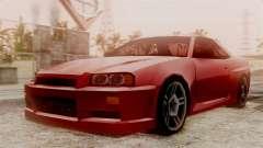 Nissan Skyline R34 SA Style für GTA San Andreas