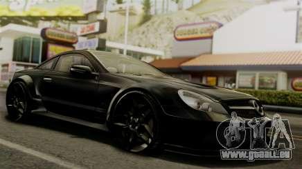 Mercedes-Benz SL65 E-Tuning für GTA San Andreas