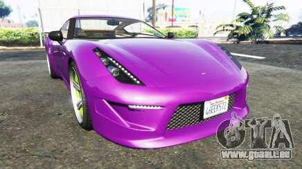 Grotti Carbonizzare Aston Martin Zagato V12 pour GTA 5