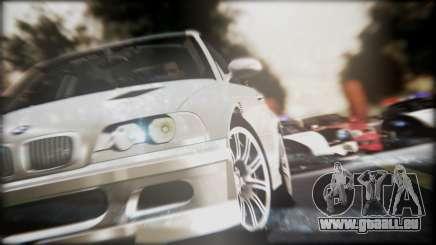 BMW M3 GTR Street Edition für GTA San Andreas