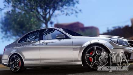 Mercedes-Benz C63 AMG 2013 pour GTA San Andreas
