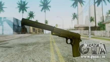 Silenced M1911 Pistol für GTA San Andreas