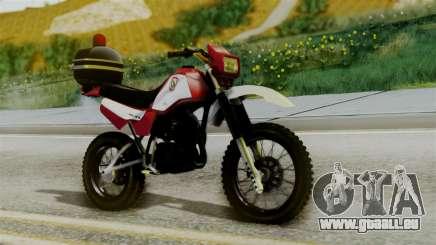 Yamaha DT 180 BM-RS für GTA San Andreas