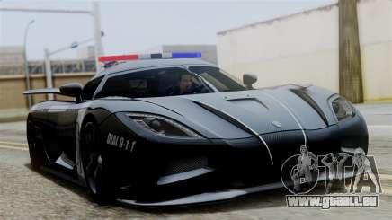 NFS Rivals Koenigsegg Agera R v3.0 pour GTA San Andreas