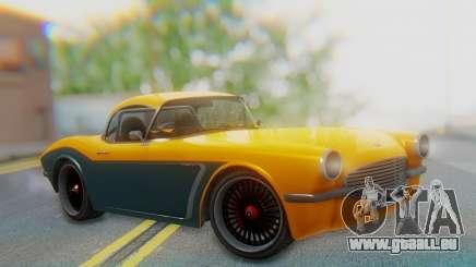 Invetero Coquette BlackFin Not Convertible für GTA San Andreas