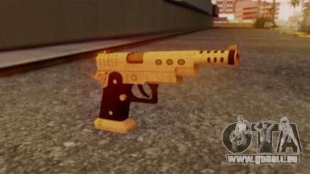 Chrome Hammer Pistol pour GTA San Andreas