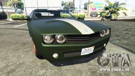 Bravado Gauntlet Dodge Challenger pour GTA 5