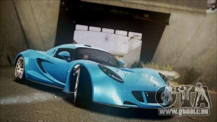 Hennessey Venom GT 2012 U.S.A American für GTA San Andreas