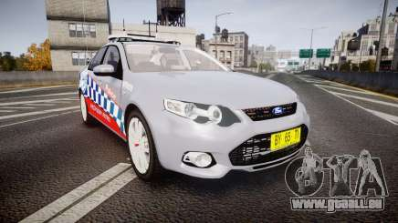 Ford Falcon FG XR6 Turbo Highway Patrol [ELS] pour GTA 4
