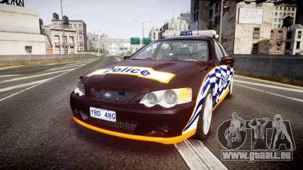 Ford Falcon BA XR8 Highway Patrol [ELS] pour GTA 4